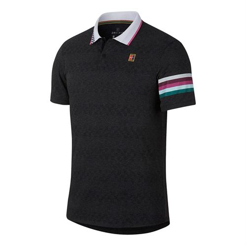 Теннисное поло NIKE NKCT ADV POLO MB NT BLACK 2019