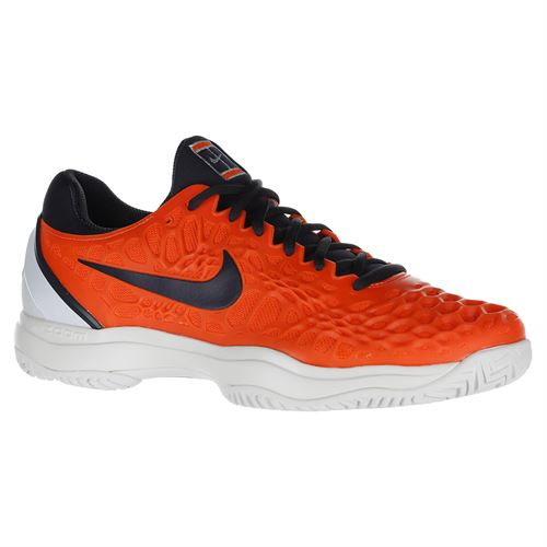 Кроссовки NIKE M AIR ZOOM CAGE 3 HC FL OR/NV R.NADAL