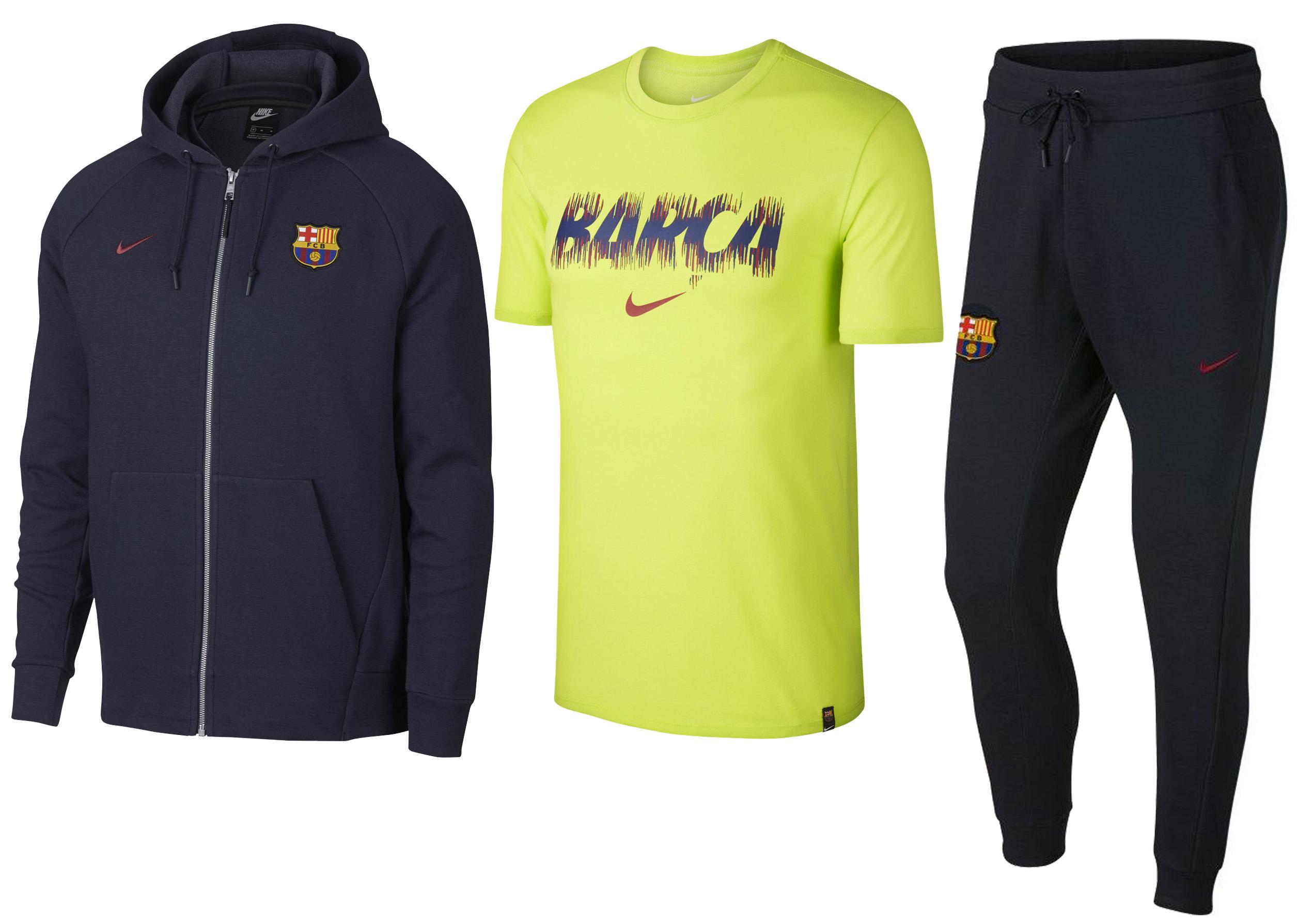 8f574d752e0 Спортивный набор одежды NIKE M FC Barcelona-4 AH7322-455-4