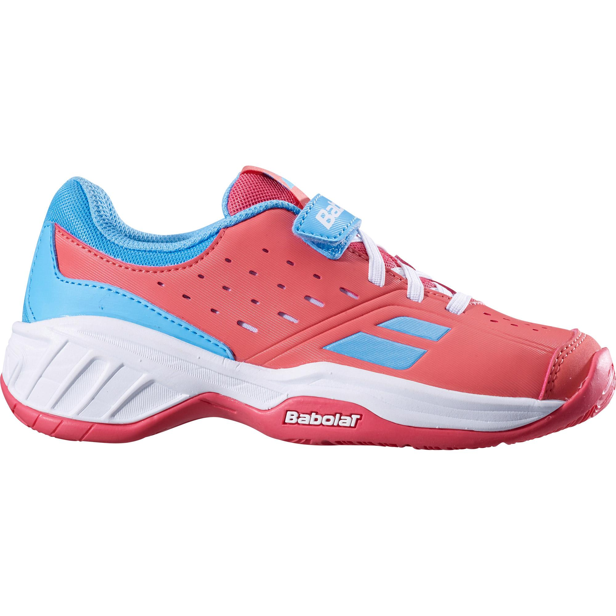 Кроссовки BABOLAT PULSION ALL COURT KID PSV  PINK/SKY BLUE 2019