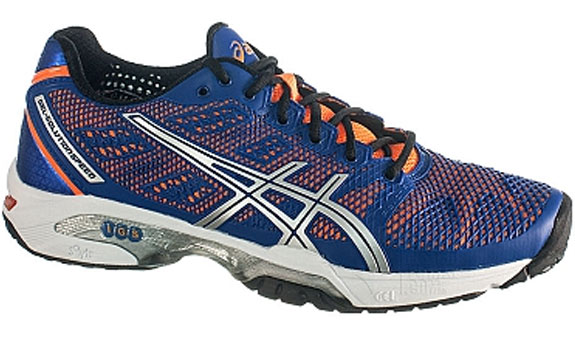 Кроссовки ASICS М GEL-SOLUTION SPEED 2   bl/or