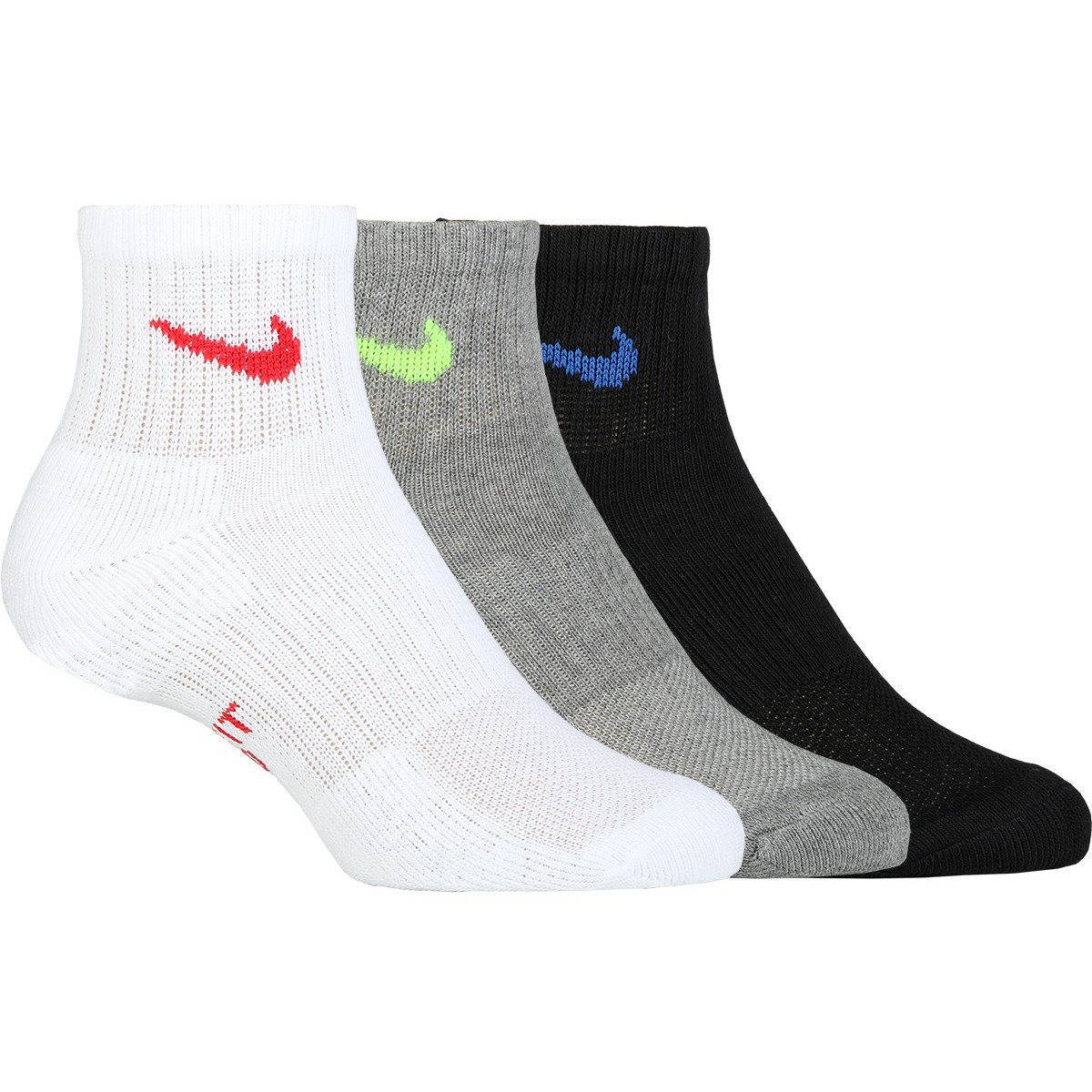 Носки теннисные NIKE 3PR Y EVERYDAY CUSH ANKLE 2021