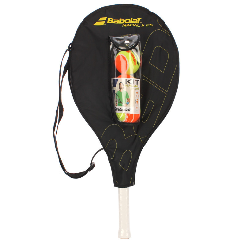 Теннисная ракетка BABOLAT KIT RG/FO JR 25+3 ORANGE BALLS