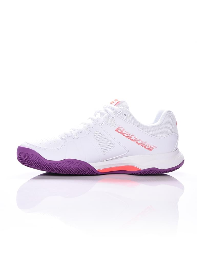 Кроссовки BABOLAT PULSION CLAY W WHITE. Фото ¹2