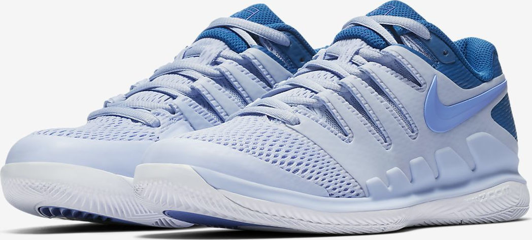 Кроссовки NIKE  WMNS AIR ZOOM VAPOR X HC BLUE M.SHARAPOVA. Фото ¹4