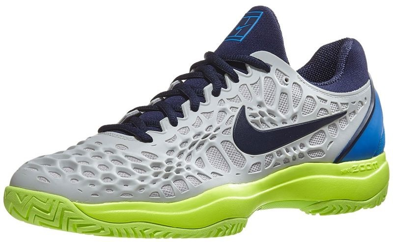 Кроссовки NIKE M AIR ZOOM CAGE 3 HC 2018 GR/BL