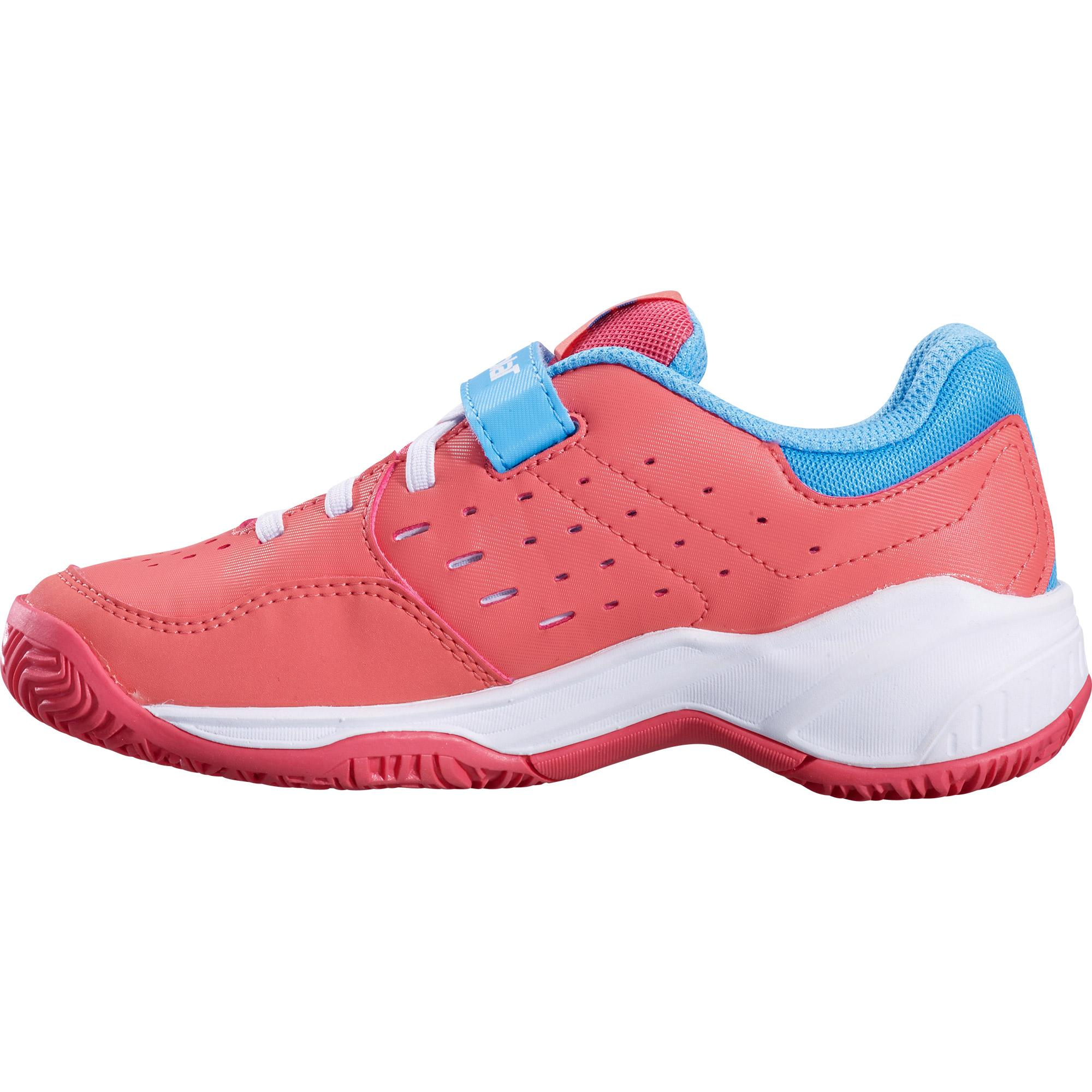Кроссовки BABOLAT PULSION ALL COURT KID PSV  PINK/SKY BLUE 2019. Фото ¹2