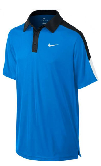 Теннисное поло NIKE TEAM COURT SS POLO YTH