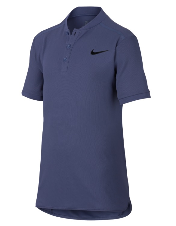 Теннисная футболка Nike Court Older Kids (Boys) Tennis Polo 2018