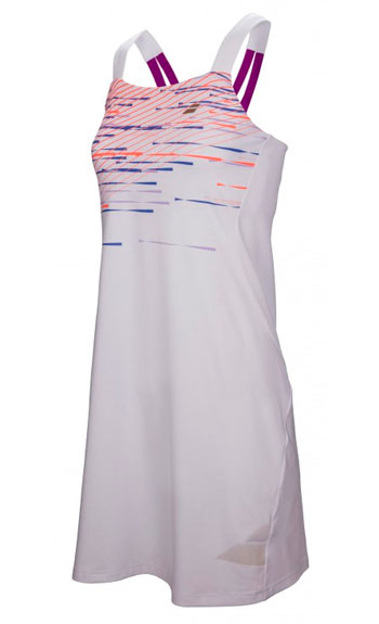 Теннисное платье Babolat PERF STRAP DRESS WOMEN wh