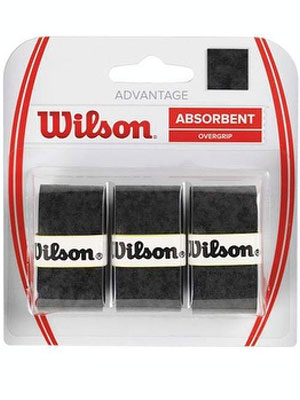 Намотки Wilson ADVANTAGE OVERGRIP BK 3PK