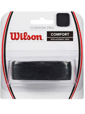 Теннисная ручка Wilson CUSHION PRO REPL GRIP BK