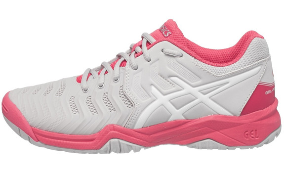 Кроссовки ASICS J GEL-RESOLUTION 7 GS  . Фото �2