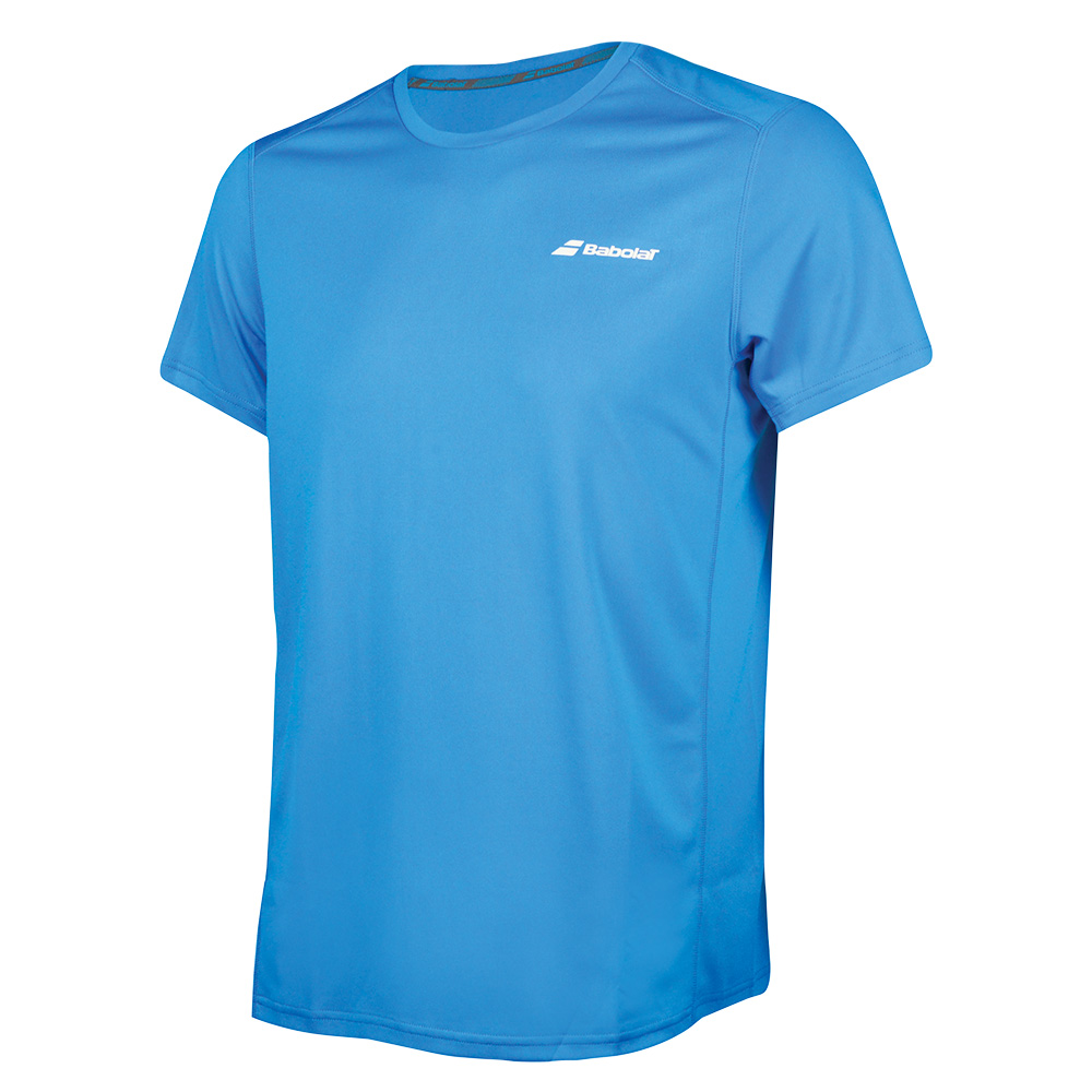 Теннисная футболка BABOLAT CORE FLAG CLUB TEE BOY DIVA BLUE 6c9540d39ebf8