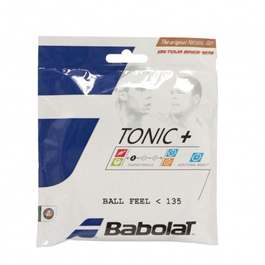Теннисные струны Babolat TONIC + BALL FEEL BT7 12M NT