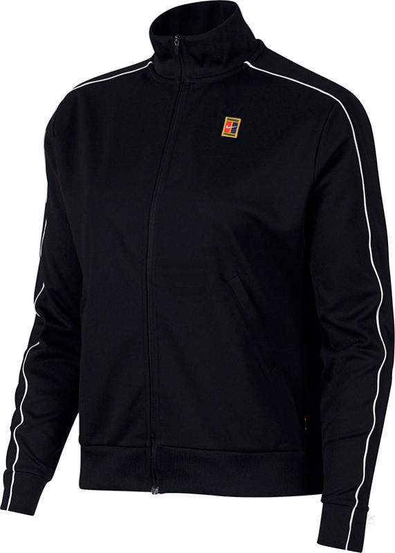 Теннисная куртка NIKE W NKCT WARM UP JACKET BK