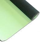 Коврик для йоги LiveUP TPE YOGA MAT green+gray