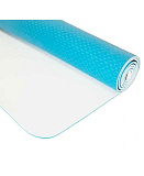 Коврик для йоги LiveUP TPE YOGA MAT light blue+light gray