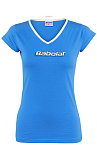 Теннисная футболка Babolat W T-SHIRT TRAINING BASIC blu