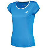 Теннисная футболка BABOLAT CORE FLAG CLUB TEE GIRL DIVA BLUE