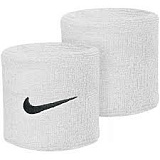 напульсник NIKE SWOOSH WRISTBANDS WHITE/BLACK