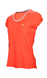 Теннисная футболка Babolat CORE FLAG CLUB TEE WOMEN fl red