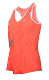 Теннисная майка Babolat CORE CROP TOP GIRL fl red