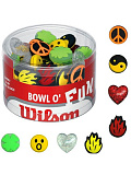 Виброгасители Wilson BOWL O FUN DAMPENERS (75 pcs assorted) 1шт