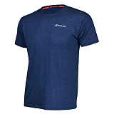 Теннисная футболка BABOLAT CORE BABOLAT TEE BOY ESTATE BLUE HEATHER