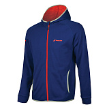 Теннисный реглан BABOLAT CORE HOOD SWEAT BOY ESTATE BLUE