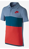 Теннисное поло Nike B NSW POLO MATCHUP COLORBLOCK