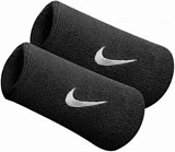 Напульсник NIKE SWOOSH DOUBLE WRISTBANDS BLACK/WHITE 2019