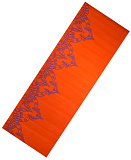 Коврик для йоги LiveUp PVC YOGA MAT WITH PRINT orange