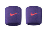 напульсник NIKE SWOOSH WRISTBANDS COURT PURLE/HYPER ORANGE 2019