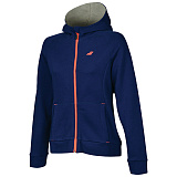 Теннисный  реглан BABOLAT CORE HOOD SWEAT GIRL ESTATE BLUE