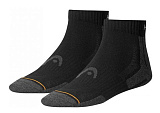 Носки теннисные HEAD 2P Unisex Quarter Sport Socks 200 BK